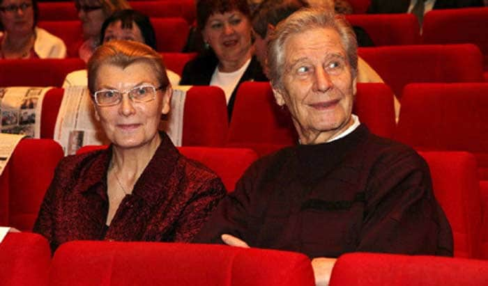 Геннадий Юхтин с женой Лидией Юхтиной
