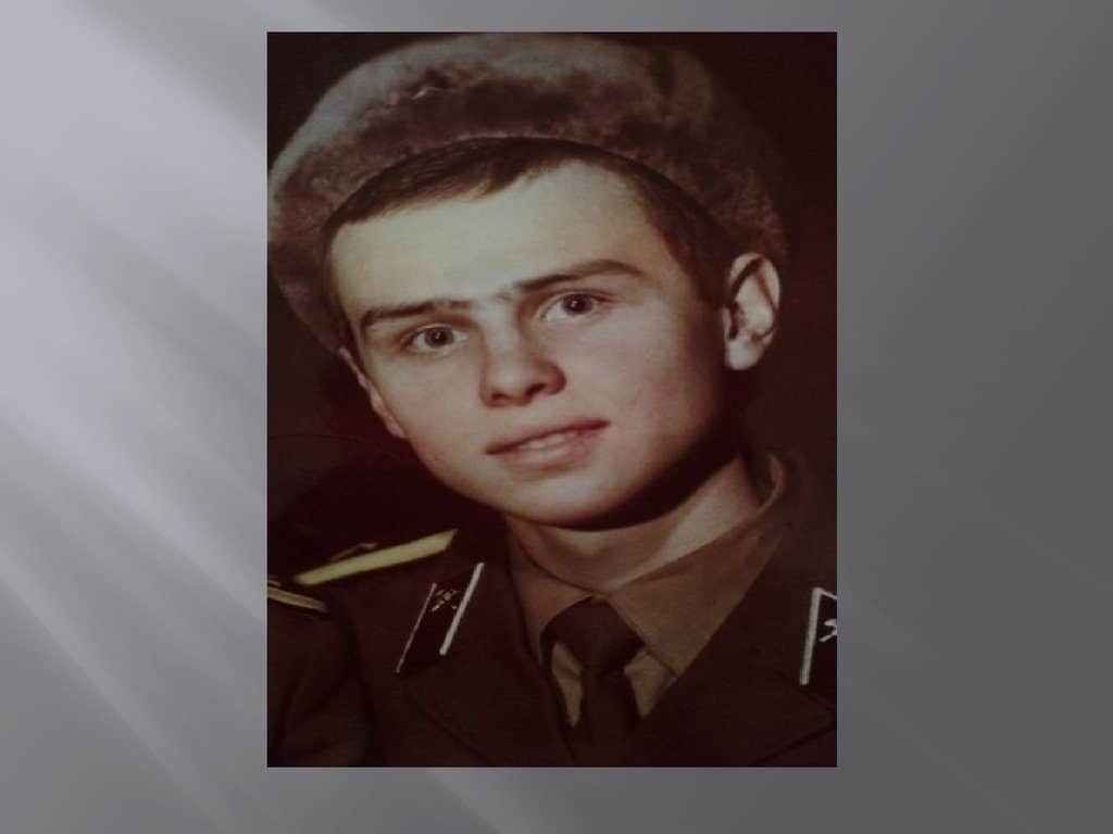 Игорь Васильев в детстве