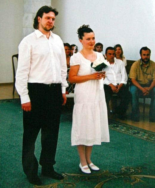 Федор Дунаевский с женой