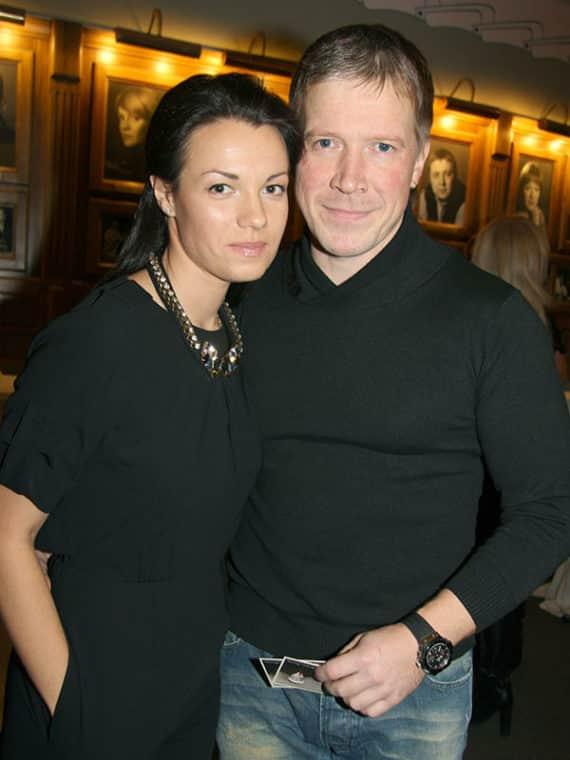 Надежда Борисова с мужем