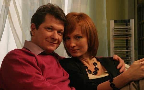 Андрей Ильин с женой