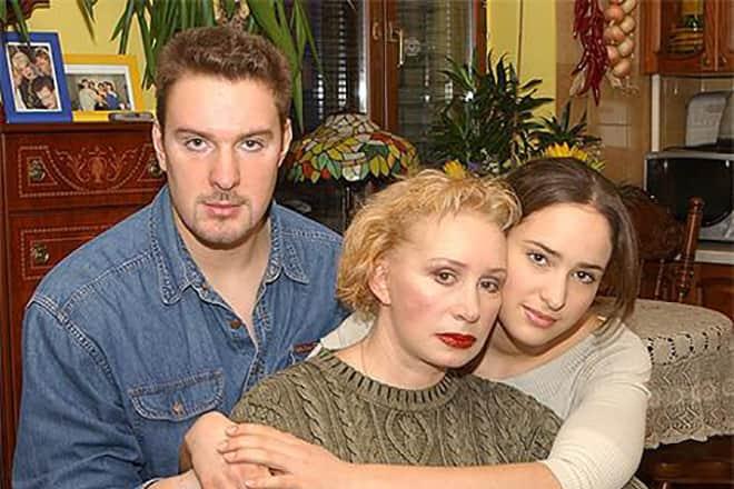 Филипп Васильев с семьей