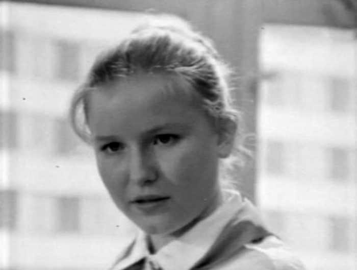 Наталья Егорова в детстве