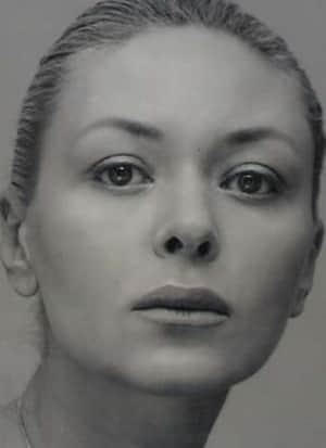 Алена Бондарчук в молодости