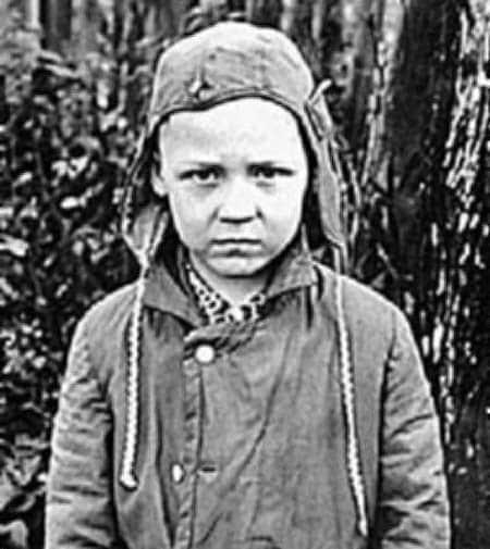 Александр Семчев в детстве