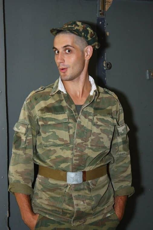 Марк Богатырев в армии