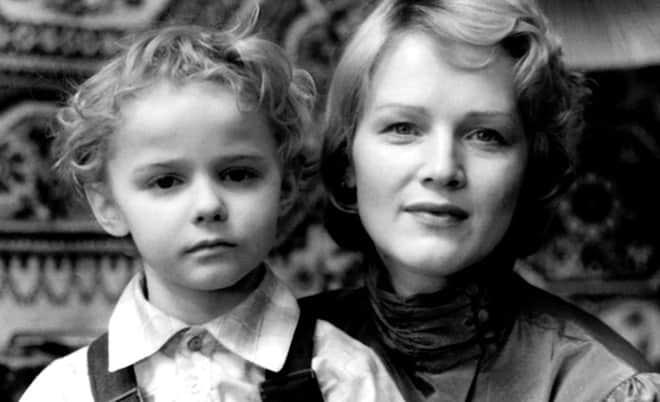 Наталья Егорова с сыном