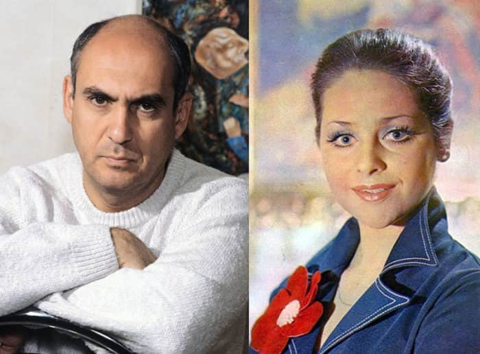 Ёла Санько и ее муж