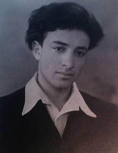 Сергей Юрский в молодости