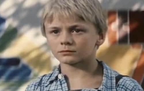 Владимир Сычев в детстве