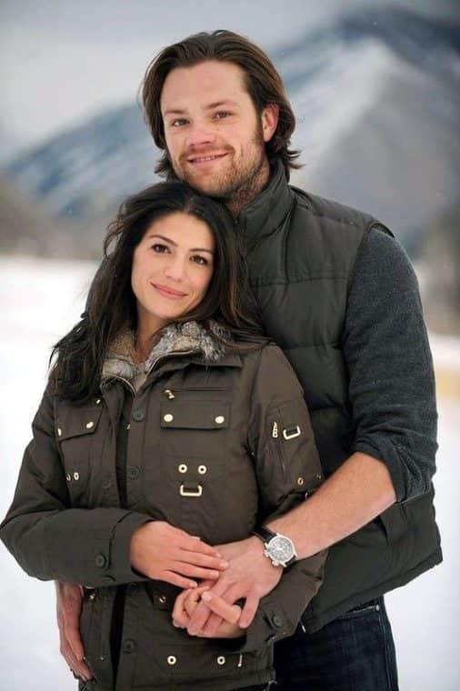 Женевьев Падалеки с мужем Джаредом Падалеки