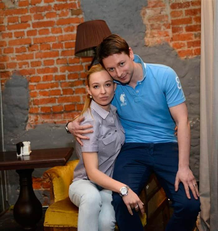 Владимир Жеребцов с женой