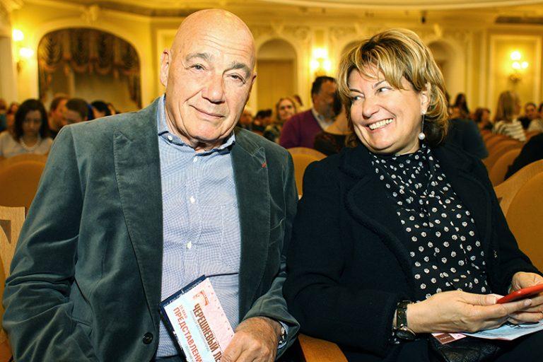 Надежда Соловьева и Познер