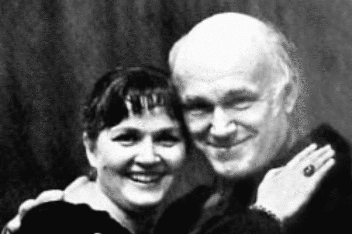 Святослав Рихтер с женой Ниной Дорлиак