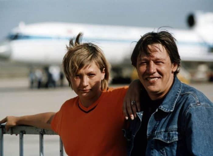 Ксения Качалина с мужем Ефремовым