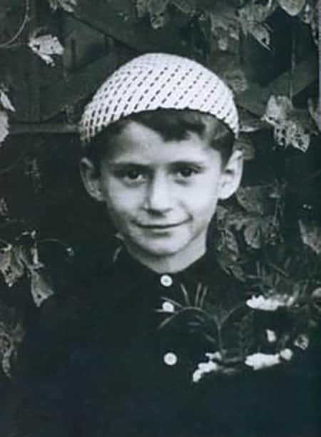 Семен Стругачев в детстве