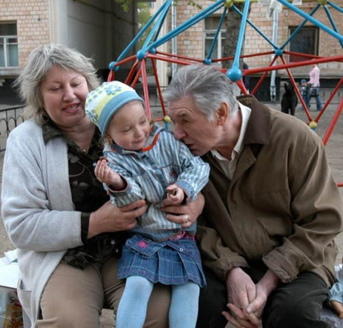 Белявский Александр с семьей