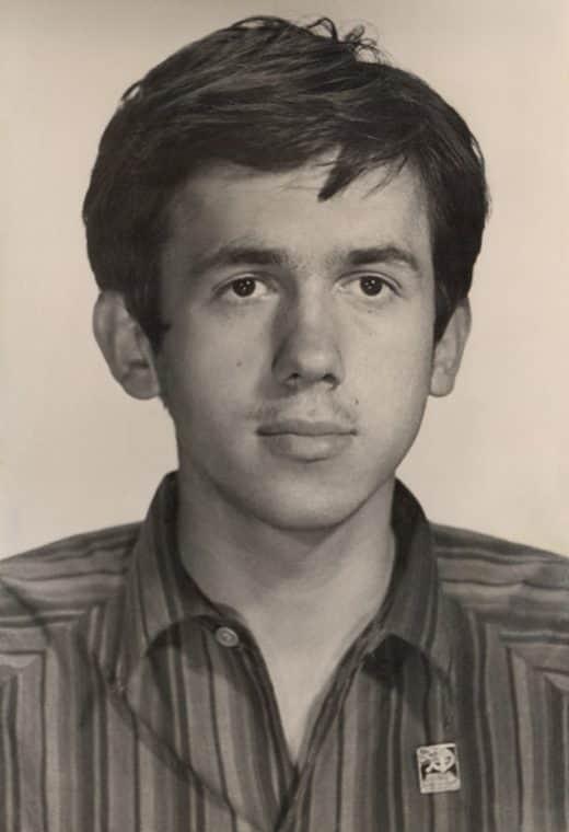 Станислав Садальский в юности