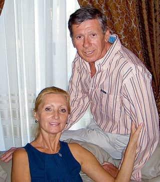 Виктор Ильичев с женой