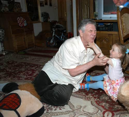 Белявский Александр с дочкой