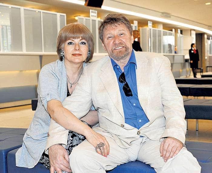 Семен Морозов с женой