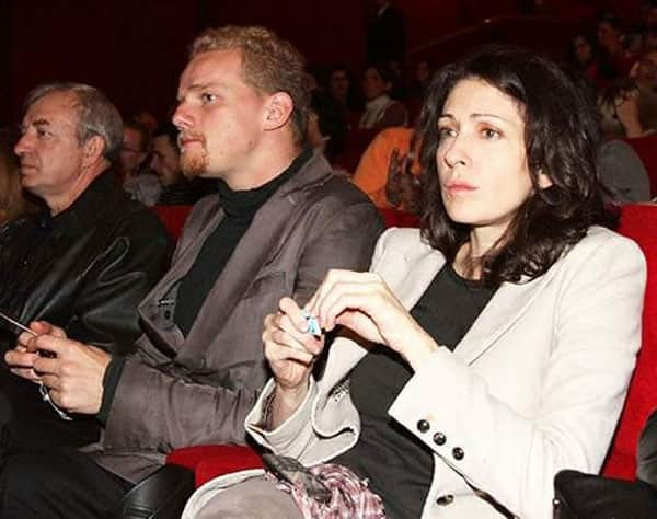 Ксения Раппопорт с бывшим мужем