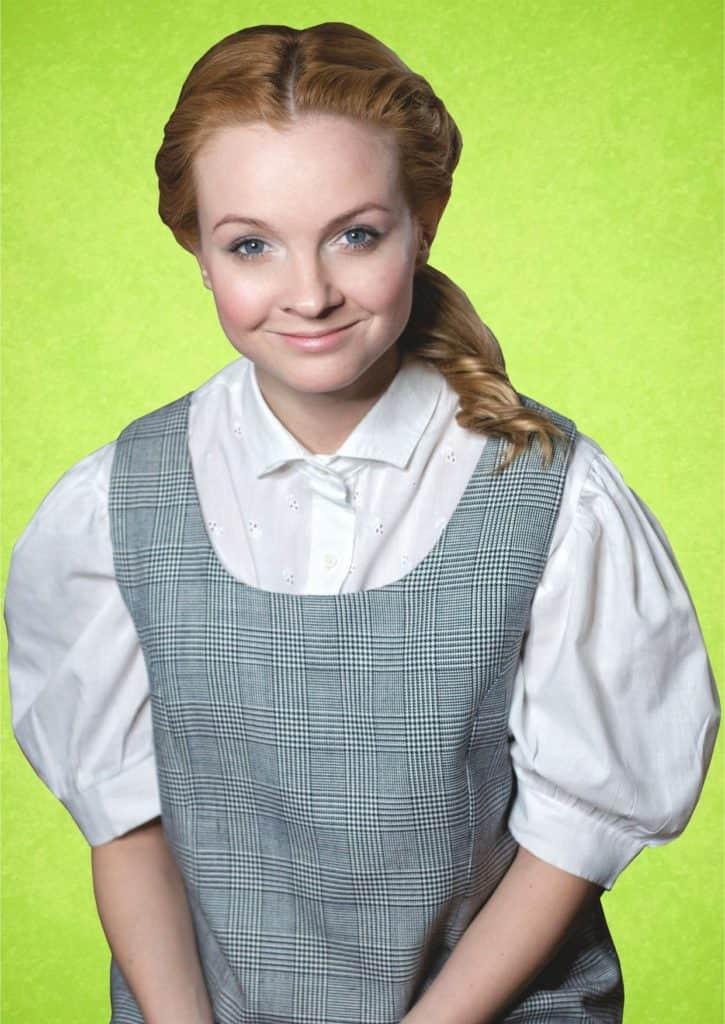 Светлана Щедрина в юности
