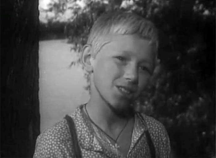 Семен Морозов в детстве