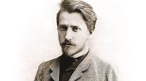 Валентин Серов в молодости