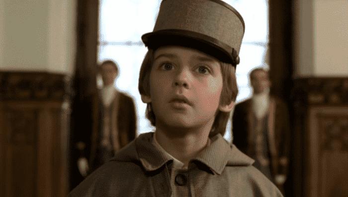 Алексей Веселкин в детстве