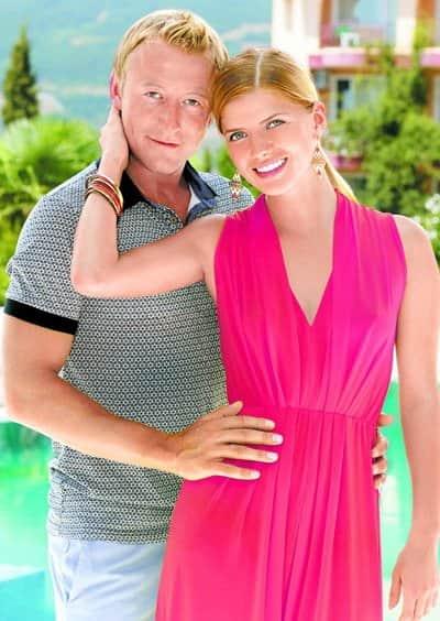 Анастасия Задорожная с мужем