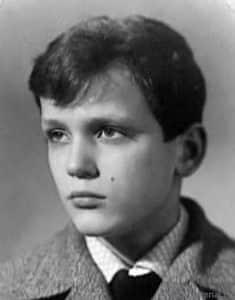 Николай Еременко в детстве