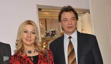 Анна Тихонова с мужем