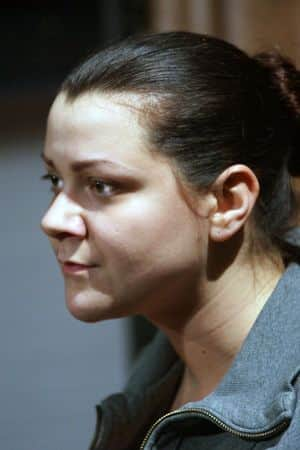 Елена Бутенко-Райкина в молодости
