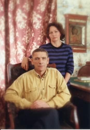 Валерий Приемыхов с женой