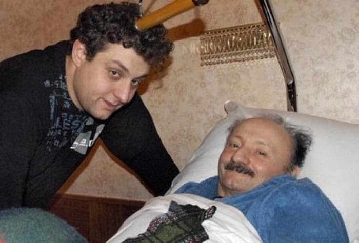 Семен Фарада в последние дни жизни