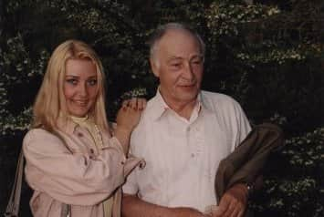 Анна Тихонова с отцом