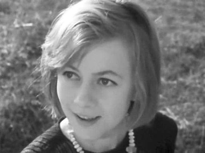 Александра Назарова в детстве