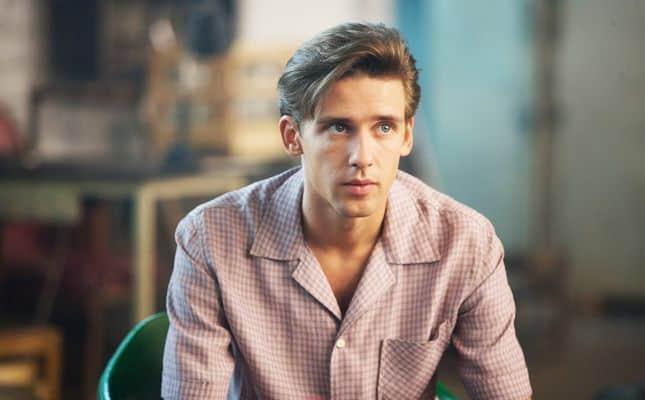 Алексей Веселкин в молодости