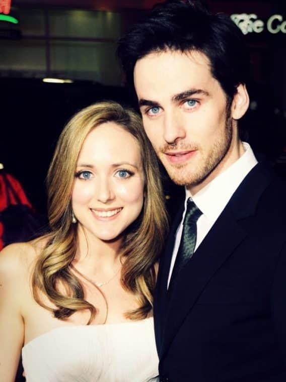 Колин О'Донохью с женой