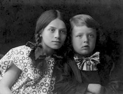 Борис Васильев в детстве