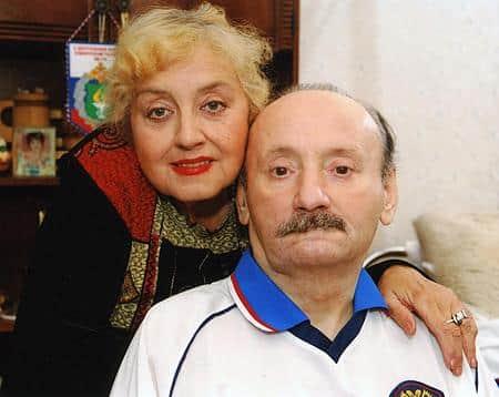 Семен Фарада с женой