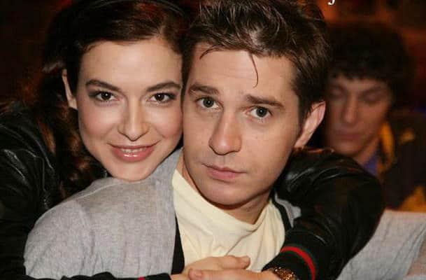 Анна Тараторкина с мужем