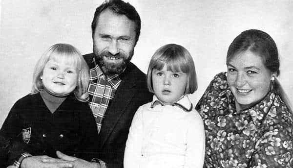 лидия федосеева-шукшина с мужем и дочками