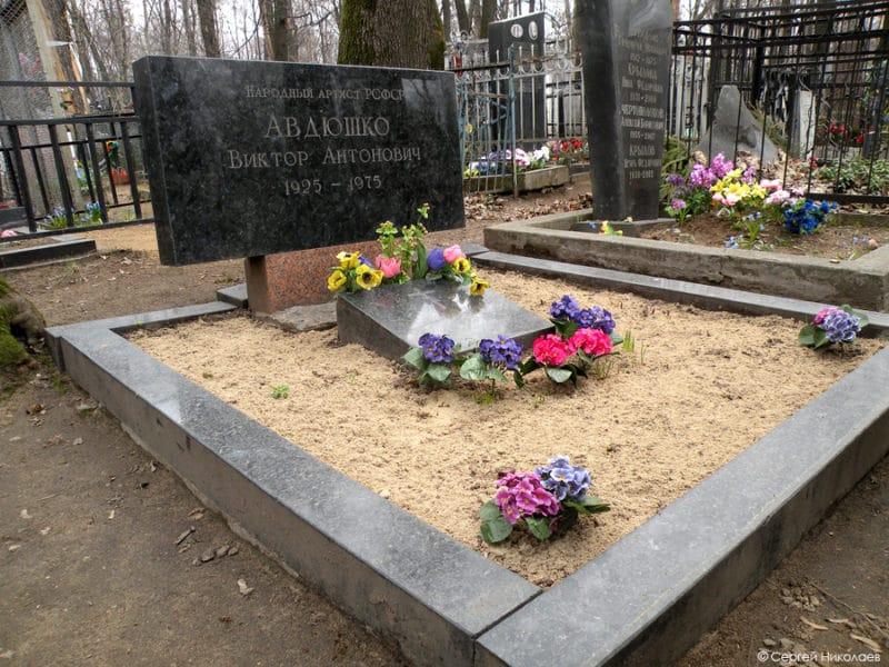 Могила Виктора Авдюшко
