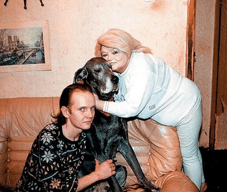 Дмитрий Егоров с мамой