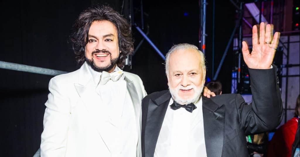 Фото Бедрос Киркоров с сыном Филиппом Киркоровым