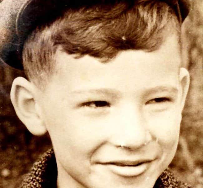 Борис Грачевский в детстве