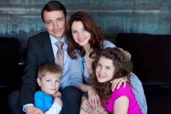 Кирилл Гребенщиков с семьей