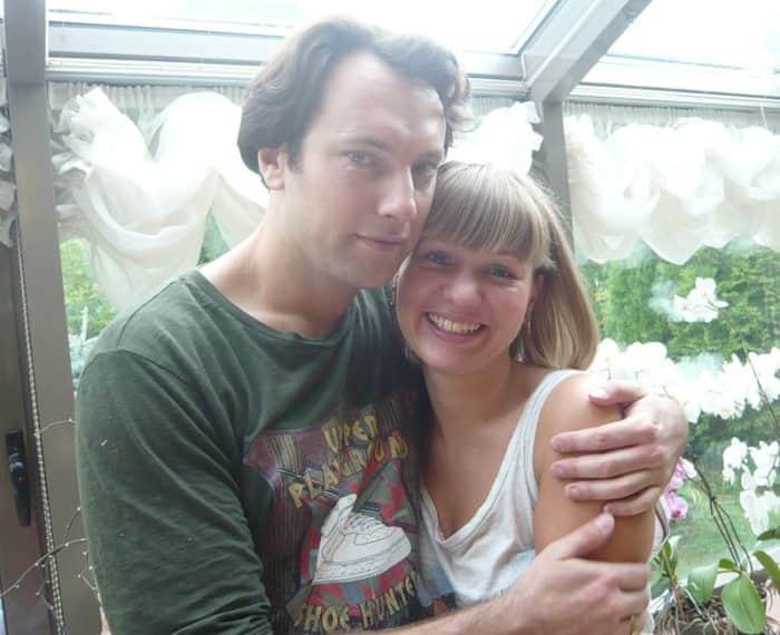Андрей Финягин с женой